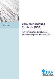 Gebuehrenordnung-fuer-Aerzte-GOAE