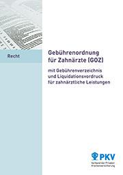 Gebuehrenordnung-fuer-Zahnaerzte-GOZ
