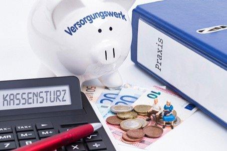 Kassensturz für die Jahreszahlung Versorgungswerk
