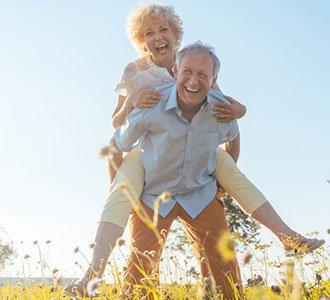 Freude im Alter wenn genug Altersvorsorge geleistet wurde