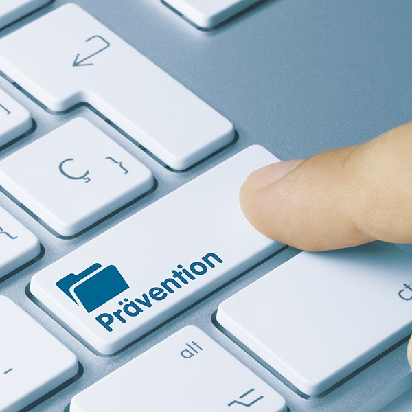 Präventionsberter passende Versicherung